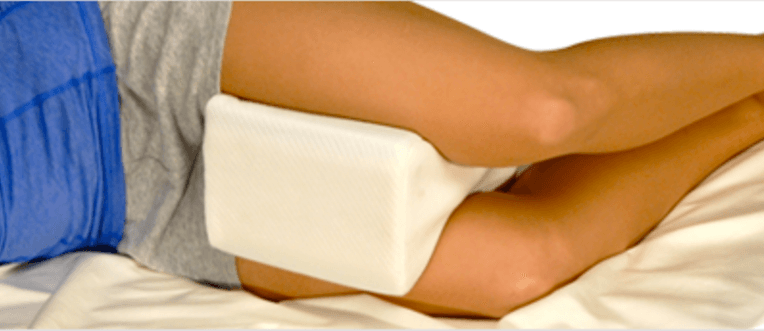 Pillow for hip pain