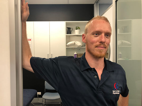Pectoralis Stretch for shoulder rehab