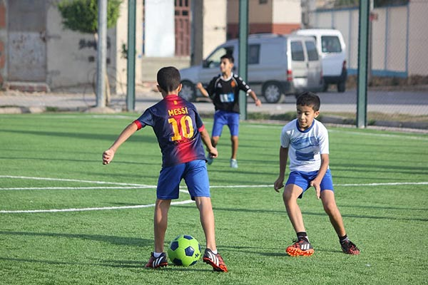 kids sport specialising in soccer