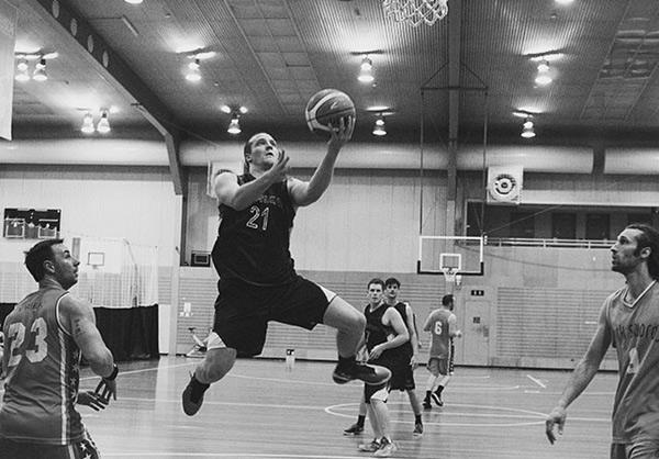 Nick Dewey Physiotherapist and basketball player