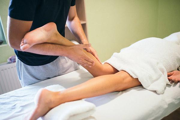 calf massage after running shoes