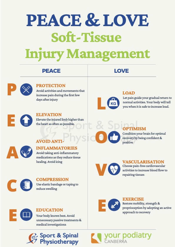 Peace & love infographic
